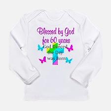 CHRISTIAN 60TH Long Sleeve Infant T-Shirt