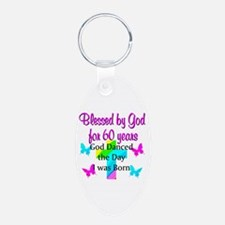 CHRISTIAN 60TH Keychains