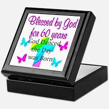 CHRISTIAN 60TH Keepsake Box