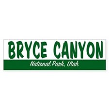 Bryce Canyon National Park Bumper Bumper Sticker