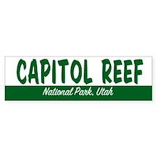 Capitol Reef National Park Bumper Bumper Sticker