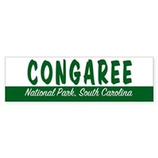 Congaree National Park Bumper Bumper Sticker