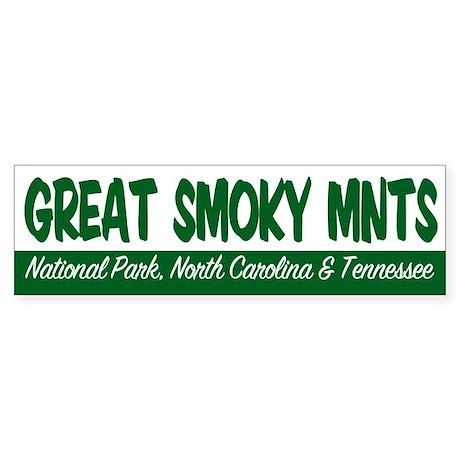 Great Smoky Mountains National Pa Bumper Sticker
