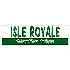 Isle Royale National Park Bumper Bumper Sticker