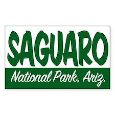 Saguaro National Park Rectangle Decal