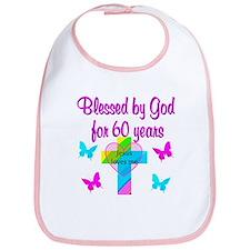 GOD LOVING 60TH Bib