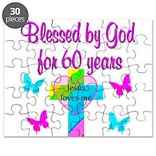 GOD LOVING 60TH Puzzle