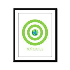 Refocus Framed Panel Print