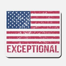 Exceptional American Flag Mousepad