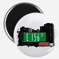 "E 156 St, Bronx, NYC 2.25"" Magnet (10 pack)"