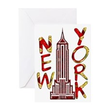 Empire State Building 2f Greeting Card