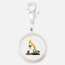Excavator Charms