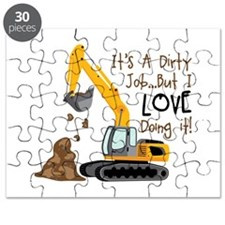 Its Adirty Job... But I Love doing it! Puzzle