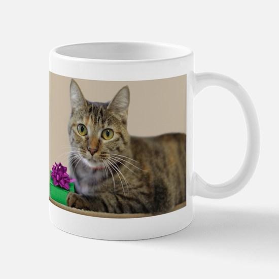 Cat with Gift Mug