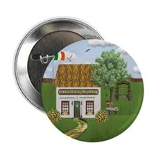 St. Patrick's Day Cottage Buttons (10 pack)