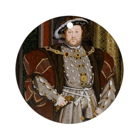 Henry VIII. Ornament (Round)