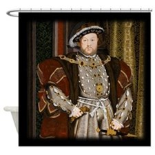 Henry VIII. Shower Curtain