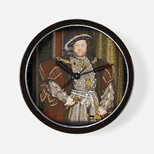 Henry VIII. Wall Clock