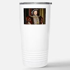 Henry VIII. Stainless Steel Travel Mug