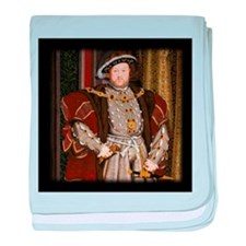 Henry VIII. baby blanket