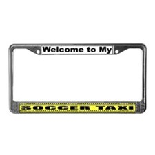 Mom's Soccer Taxi License Plate Frame