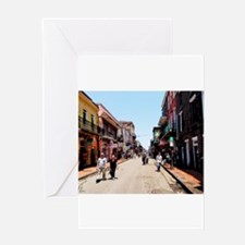 New Orleans Bourbon Greeting Cards