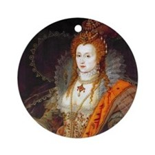 Queen Elizabeth I Ornament (Round)