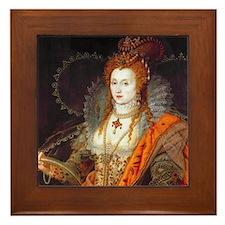 Queen Elizabeth I Framed Tile
