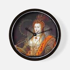 Queen Elizabeth I Wall Clock