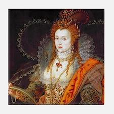 Queen Elizabeth I Tile Coaster