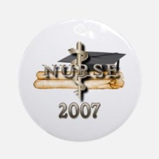 Nursing Grad 2007 Ornament (Round)