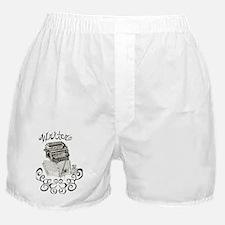 Typewriter  Boxer Shorts