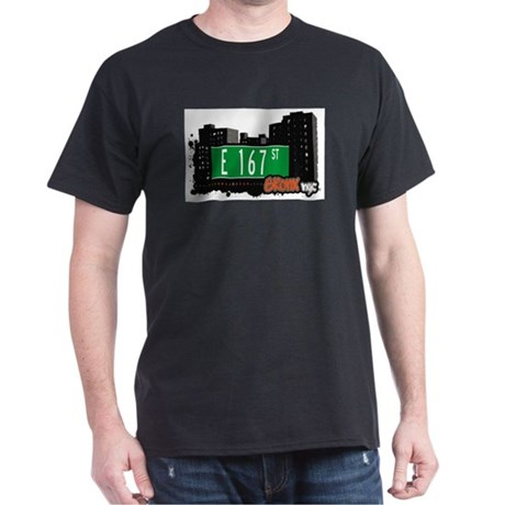 E 167 St, Bronx, NYC Dark T-Shirt