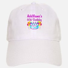 AWESOME 60TH Baseball Baseball Cap