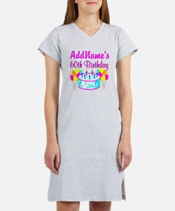 AWESOME 60TH Women's Nightshirt