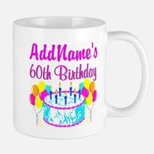 AWESOME 60TH Small Small Mug