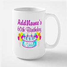 AWESOME 60TH Large Mug