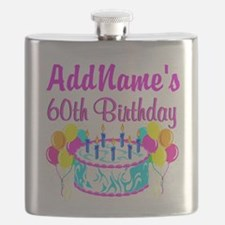 AWESOME 60TH Flask