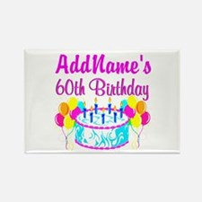 AWESOME 60TH Rectangle Magnet (10 pack)