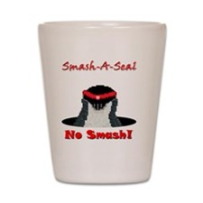 No Smash Shot Glass