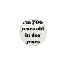 100 dog years 3-3 Mini Button