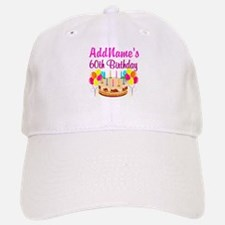 AMAZING 60TH Baseball Baseball Cap