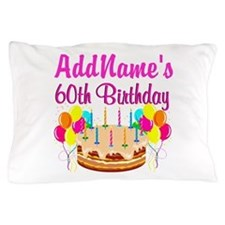 AMAZING 60TH Pillow Case