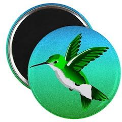 "2.25"" Hummingbird Magnet (100 pack)"