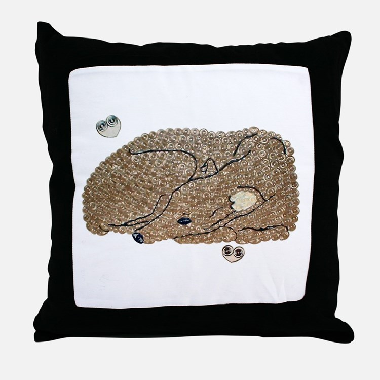 ASLEEP IN PEACE THROW PILLOW