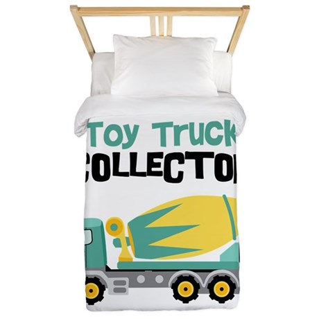 Toy Truck Collector Twin Duvet