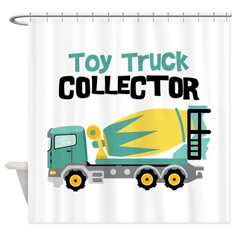 Toy Truck Collector Shower Curtain