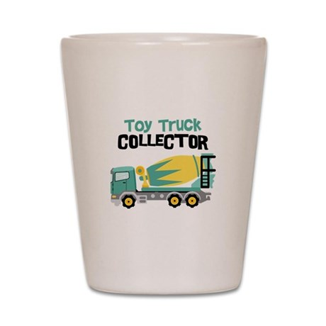 Toy Truck Collector Shot Glass