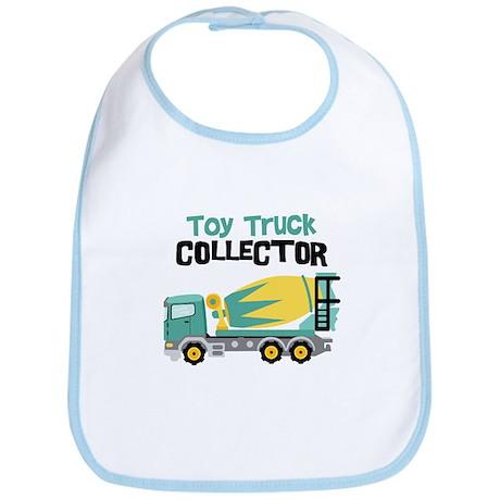 Toy Truck Collector Bib