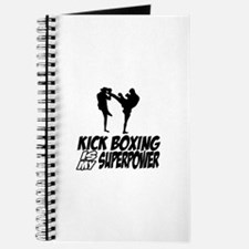 kickboxing is my superpower Journal